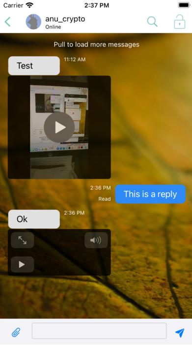 Aperçu du lecteur audio/vidéo intégré